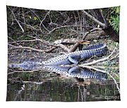 The Gator That Lives Under The Bridge Tapestry