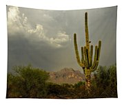 The Golden Saguaro  Tapestry