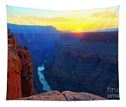 The Grand Canyon Solitude At Toroweap Tapestry