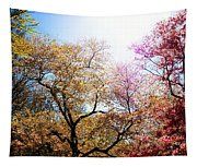 The Grandest Of Dreams - Cherry Blossoms - Brooklyn Botanic Garden Tapestry