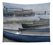 The Green Canoe Tapestry