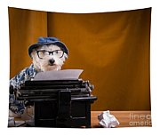 The Hard Boiled Journalist Tapestry
