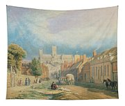 The High Street Lincoln  Tapestry