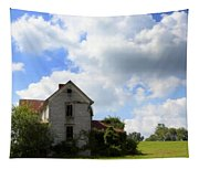 The House On The Hill Tapestry