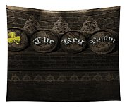 The Keg Room Version 4 Tapestry