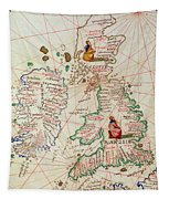 The Kingdoms Of England And Scotland Tapestry