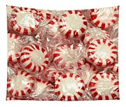 The Land Of Peppermint Candy Square Tapestry