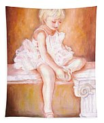 The Little Ballerina Tapestry