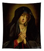 The Madonna In Sorrow Tapestry