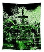 Green Savannah Tapestry