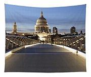 The Millennium Bridge Looking North Tapestry