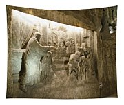 The Miracle At Cana In Galilee - Wieliczka Salt Mine Tapestry