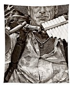 The Music Man - Monochrome Tapestry