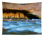 The Narrows Virgin River Zion 4 Tapestry