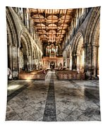 The Nave At St Davids Cathedral 3 Tapestry