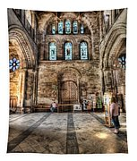 The Nave At St Davids Cathedral 5 Tapestry