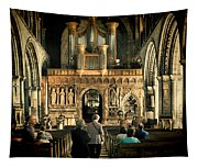 The Nave At St Davids Cathedral Tapestry