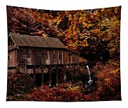 The Old Mill Stream Tapestry