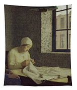 The Old Nurse Tapestry by Frederick Cayley Robinson