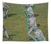 The Pads Digital Art Tapestry