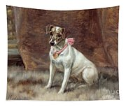 The Pink Bow Tapestry