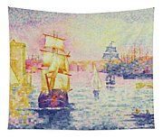 The Port Of Marseilles Tapestry