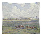 The Racecourse At Boulogne-sur-mer Tapestry