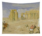 The Ramesseum At Thebes Tapestry