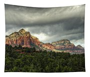 The Red Rocks Of Sedona  Tapestry
