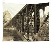 The Retired Railroad Bridge Tapestry