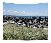 The Rugged Coast Tapestry