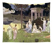 The Sacred Wood Cherished By The Arts And The Muses Tapestry