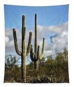 The Saguaros  Tapestry