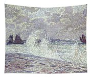 The Sea During Equinox Boulogne-sur-mer Tapestry