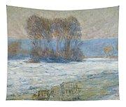 The Seine At Bennecourt Tapestry