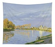 The Seine At Bougival Tapestry