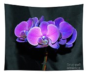 The Shade Of Orchids Tapestry