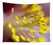 The Stamen Of A Flower Tapestry