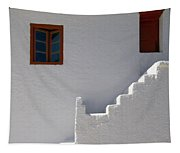 The Steps And The Window Tapestry