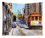 The Streets Of San Francisco . 7d7263 Tapestry