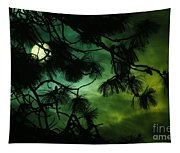 The Sun Through Clouds And Branches  Tapestry
