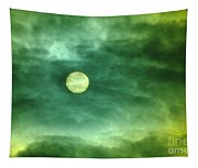 The Sun Through Clouds  Tapestry