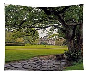 The Sundial Terrace, Glin Castle, Co Tapestry