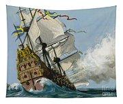 The Swedish Warship Vasa Tapestry