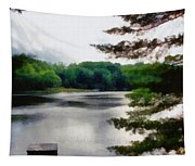 The Swimming Dock Tapestry