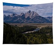 The Tetons - Il Tapestry
