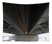 The Three Benicia-martinez Bridges In California - 5d18842 Tapestry