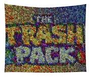 The Trash Pack Eyeball Mosaic Tapestry