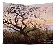 The Tree Of Crows Tapestry