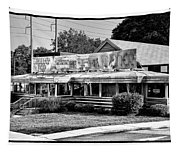 The Trolley Car Diner - Chestnut Hill Philadelphia Tapestry
